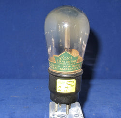 STENTOR TWO, COSSOR, BALLOON ENVELOPE, TRIODE FROM 1927, 215P