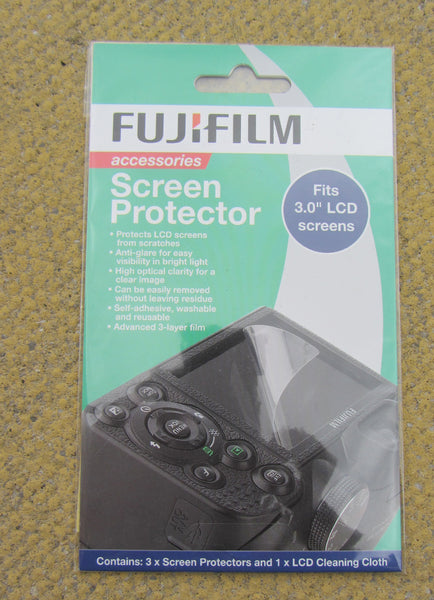 Fujifilm, Screen Protector, for 3 Inch LCD Screen