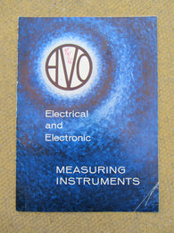 AVO INSTRUMENTS,MULTI PAGE, BROCHURE, 1966