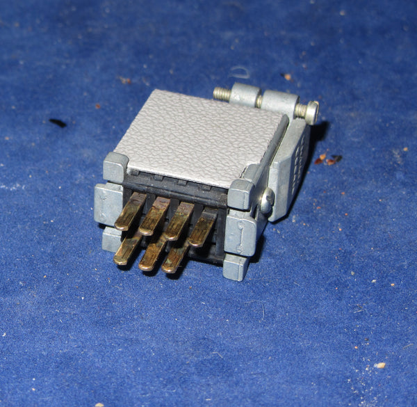 PLESSEY PAINTON JONES MULTICON 159 SERIES 7 PIN PLUG, CABLE MOUNT,  74/10/0701/10  (324965) FOR QUAD 50D 50E