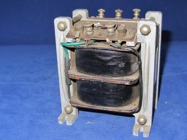 VINTAGE 1930S OUTPUT TRANSFORMER, CAST FRAME LIKE VORTEXION,  4500 OHMS, CENTRE TAPPED, TO 15 OHMS, SUIT 2A3 300B PX4 EL34
