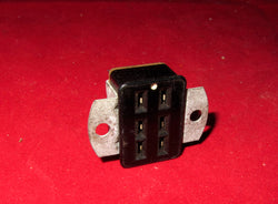 6 PIN FEMALE, MINIATURE JONES SOCKET, CHASSIS MOUNT, QUAD2, POWER SOCKET