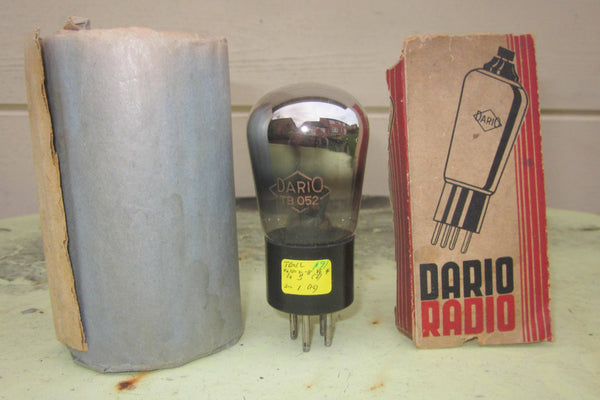 TB052, DARIO, GLOBE ENVELOPE, TRIODE, BOXED NEW