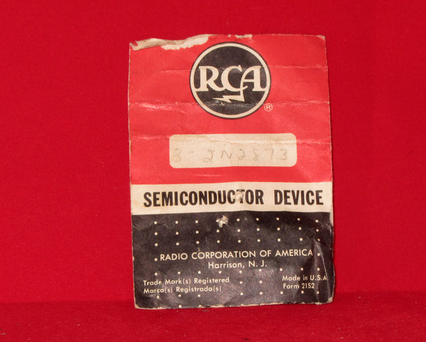 RCA, 2N2873, Transistor Silicon, NPN,  Pack of 3, NOS