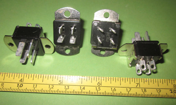 MINIATURE JONES PLUG, VARIOUS PINS & CONFIGURATIONS