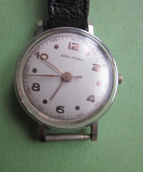 BOREL & FILS MANUAL WIND MECHANICAL 1950S LADIES WATCH NOT WORKING