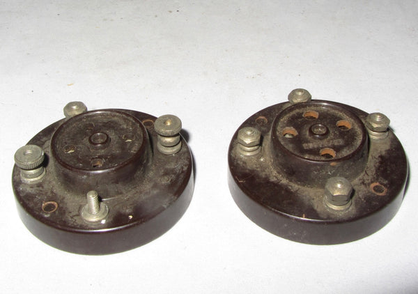 WHITELEY BONEHAM, WB VALVE BASES, B4/B5, BRITISH 4/5 PIN FROM 1935