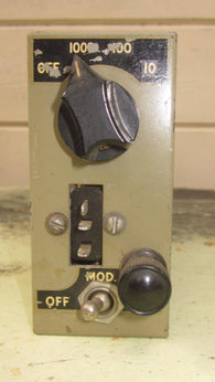 CRYSTAL CALIBRATOR FOR WS 19 BY CANADIAN MARCONI DATED 1943