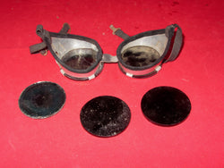 1950s, Atomic Test, Flash Protection Goggles, & Spare Lenses