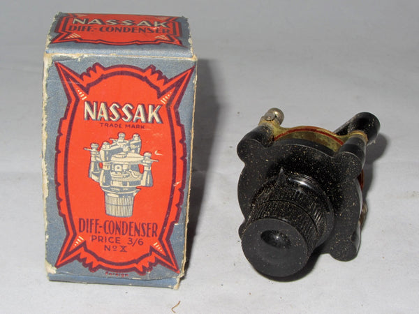 NASSAK DIFF CONDENSER FROM 1929, BOXED NOS