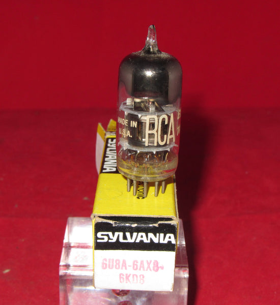 6U8A, RCA, SYLVANIA BOXED,  ECF82,  1960S PRODUCTION