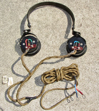 SG BROWN, ADMIRALTY HEADPHONES, TYPE CHR, AP3662.S, USED WITH CR100, R106, HRO, WS16, DFB12, DFP4