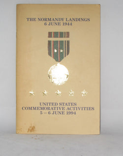 THE NORMANDY LANDINGS, 6TH JUNE 1944, US COMMEMORATIVE ACTIVITIES 1994