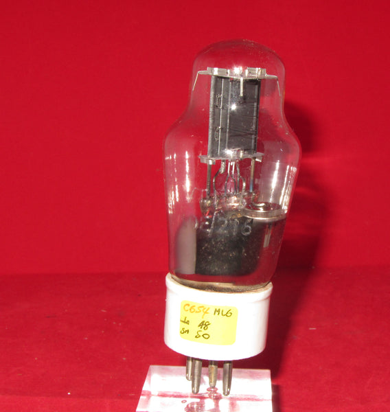 OSRAM, ML6, CERAMIC BASED TRIODE, 1940S FOR ,RAF T1154,  PX4 PX25 VALVE AMPLIFIERS