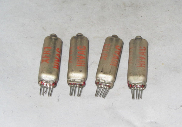 XFR1, HIVAC, SUBMINIATURE RF AMPLIFIER VALVE X4 , THOUGHT TO BE SIMILAR TO MULLARD, EC71,