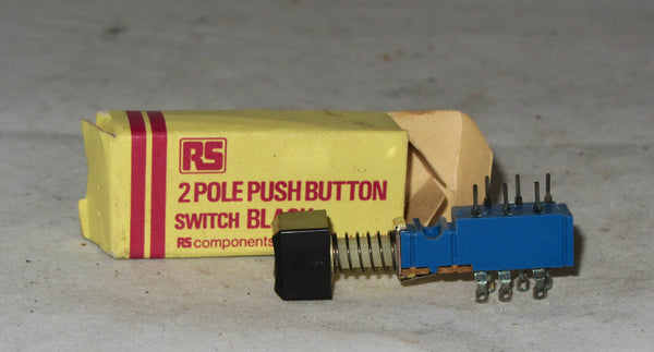2 pole push button switch RS,