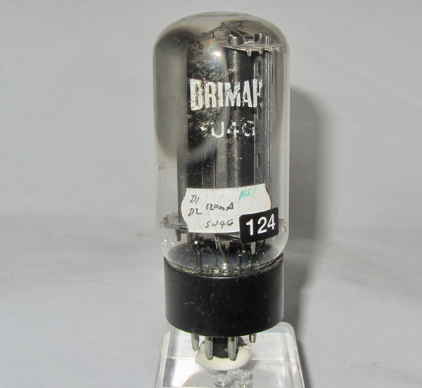 5U4GB, BRIMAR, SMOOTH CHARCOAL ANODE, CENTRAL RIB