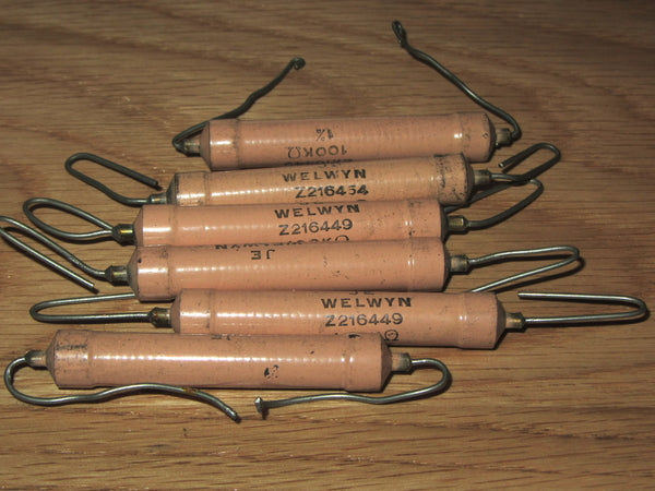 100K, 2W, Welwyn, Panclimatic Resistor, C25 Series as used in AVO meter & AVO VCM