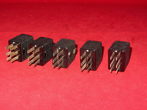 6 PIN MALE, JONES PLUG, CABLE MOUNT, QUAD2, POWER PLUG, NEW