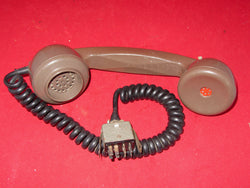 TELEPHONE HANDSET, NOS, PAINTON, CINCH ,JONES, 8 PiN MALE PLUG, PYE VANGUARD,  PYE WHITEHALL