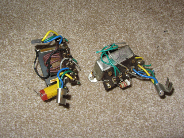 2x, Output Transformer ,T1 T2, with OC78, Tr5 Tr7 , for Bush TR82B