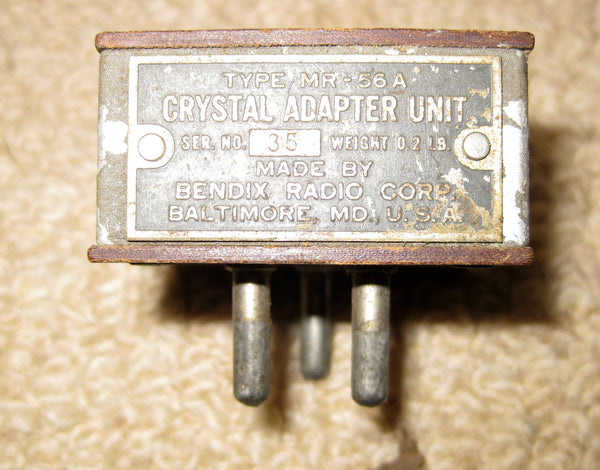BENDIX MR-56A CRYSTAL ADAPTOR UNIT - MULLARD MAGIC - 1
