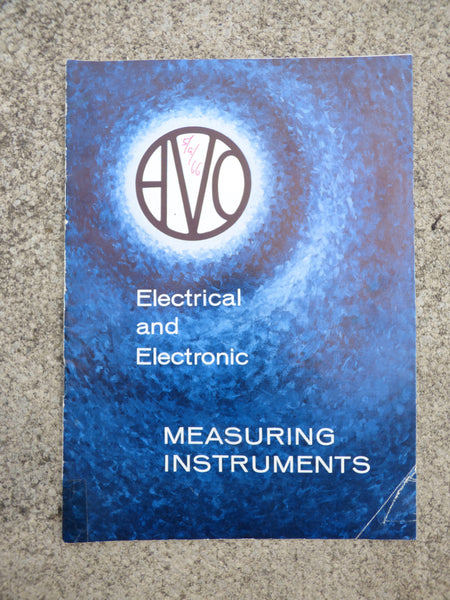 AVO, ELECTRICAL & ELECTRONIC MEASURING INSTRUMENTS, BROCHURE, 1966