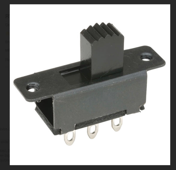 HAOYU, SS-22F24-G7, DPDT, Miniature Slide Switch,