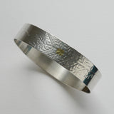 Dusty miller overlap bangle