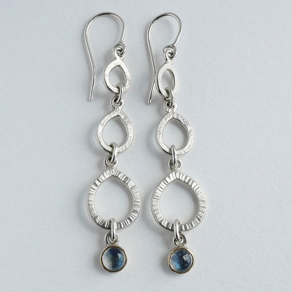 Moonstone chandelier earring
