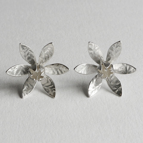 Lily flower earrings