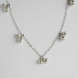 Bud drops necklace