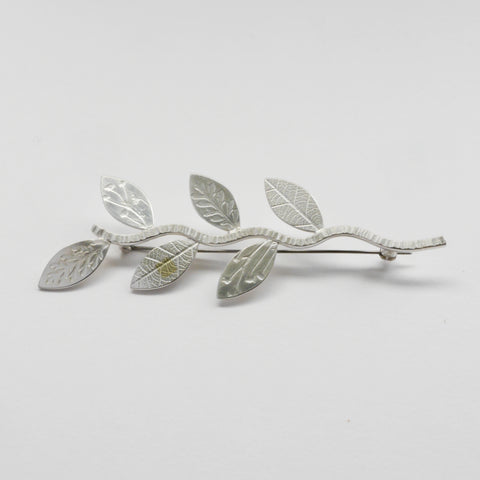Twig brooch