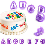 Alphabet/Number 3D Fondant/Cookie Cutters