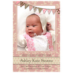 Ashley - Baby Girl Birth Announcement