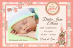 Bridie - Baby Girl Birth Announcement