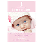 Janee - Baby Girl Birth Announcement
