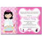 Brinley - Pamper Spa Party Birthday Invitation