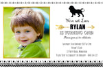 Rylan - Tribal Boho Lion Birthday Invitation