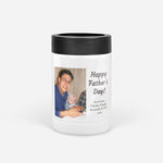 Fathers Day Dad Photo Collage Can Cooler Colster