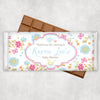 Floral Design Chocolate Bar