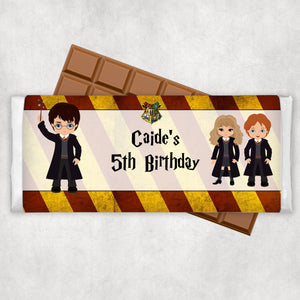 Harry Potter Chocolate Wrapper