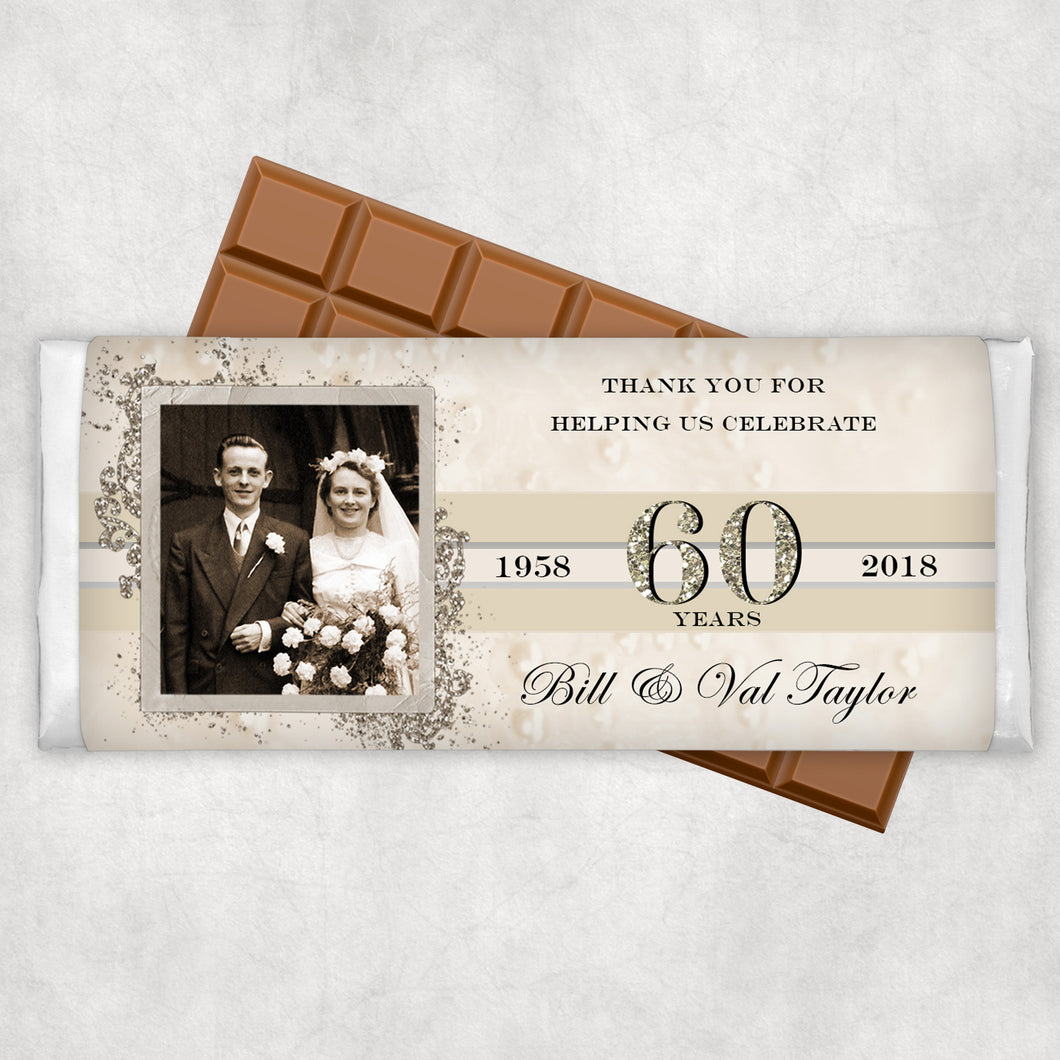 Anniversary Chocolate Wrappers