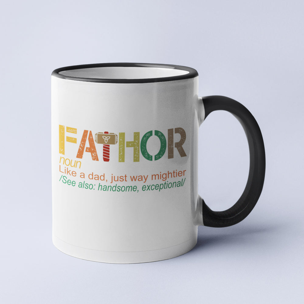 Fa-Thor Personalised Ceramic Coffee Tea Mug