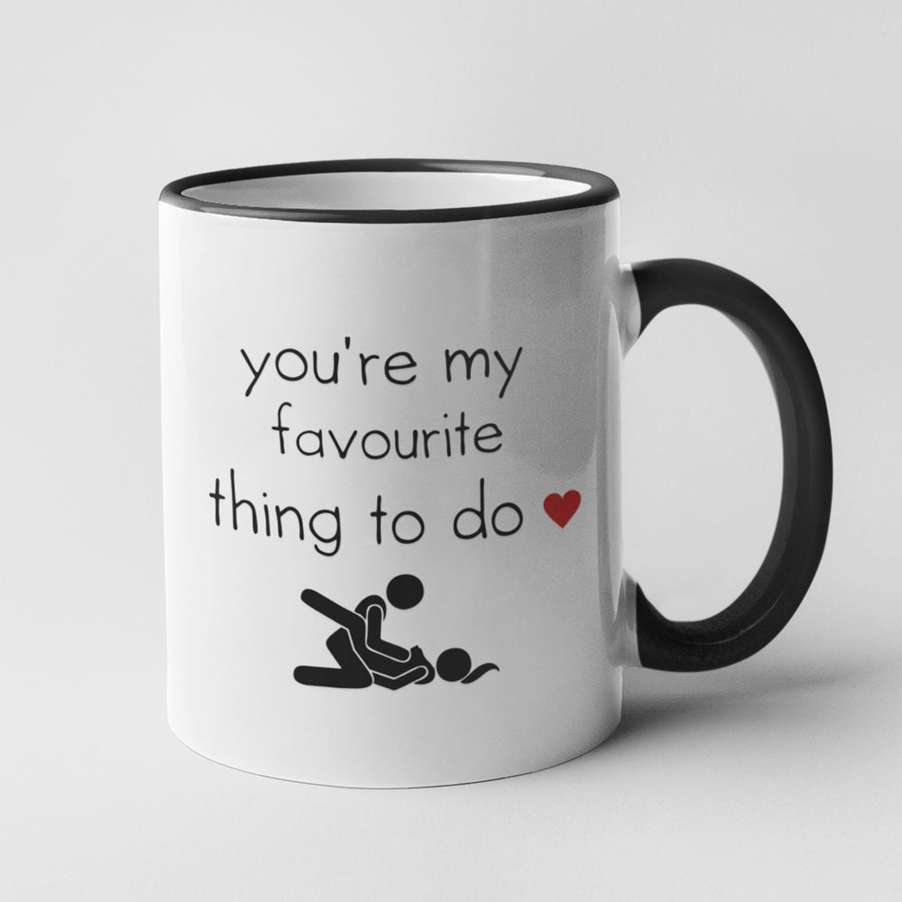 You're My Favourite Thing Personalised Ceramic Coffee Tea Mug
