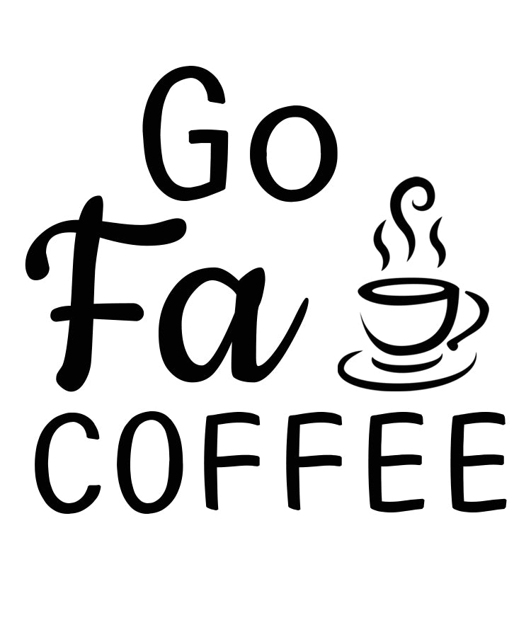 Go Fa Coffee Personalised Ceramic Coffee Tea Mug