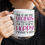 Mothers Day Mum Personalised Ceramic Coffee Tea Mug