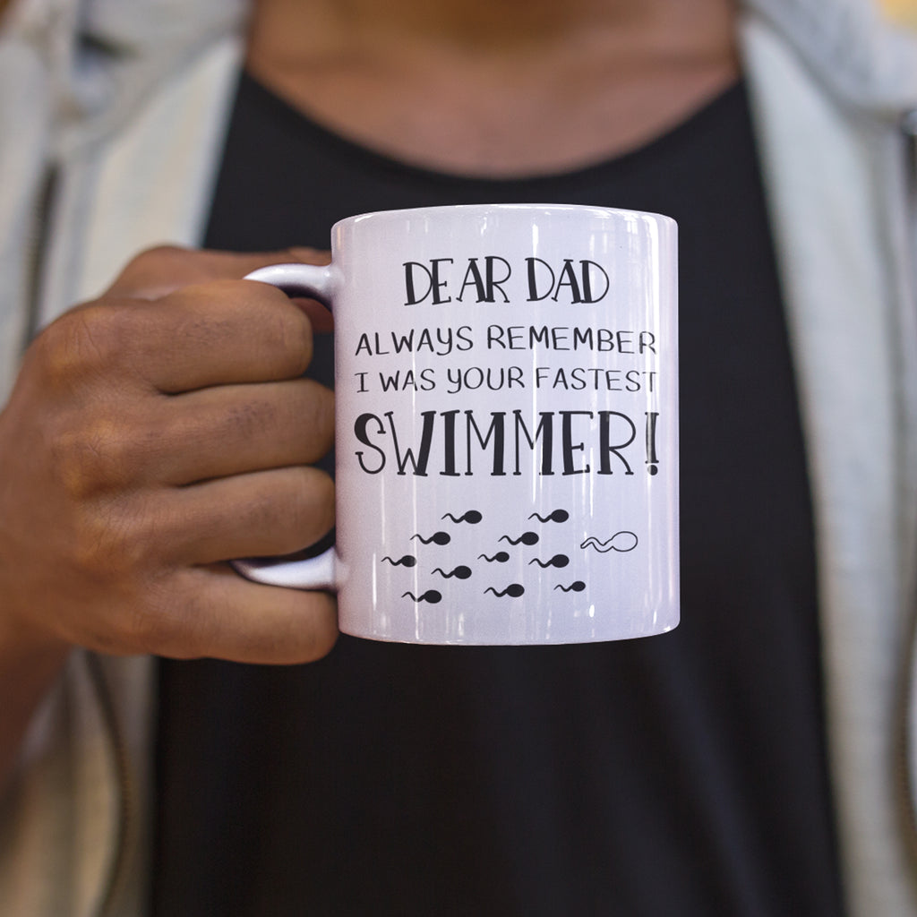 Fathers Day Funny Birthday Personalised Ceramic Coffee Tea Mug