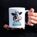 Not In The Mood Personalised Ceramic Coffee Tea Mug