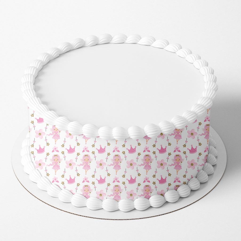 Fairies Edible Icing Cake Wrap